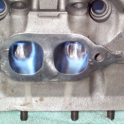 Porting the GM 305 Cylinder Heads